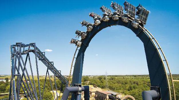 Katun roller coaster