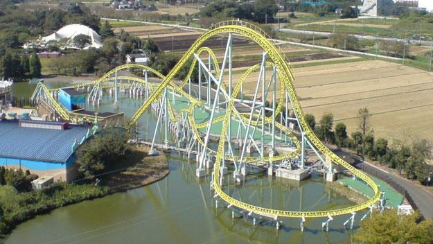 Kawasemi roller coaster