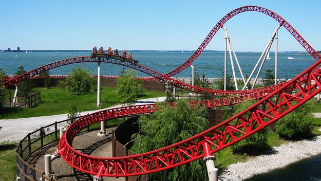 Maverick roller coaster