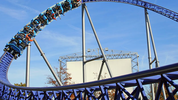 Millennium Force roller coaster