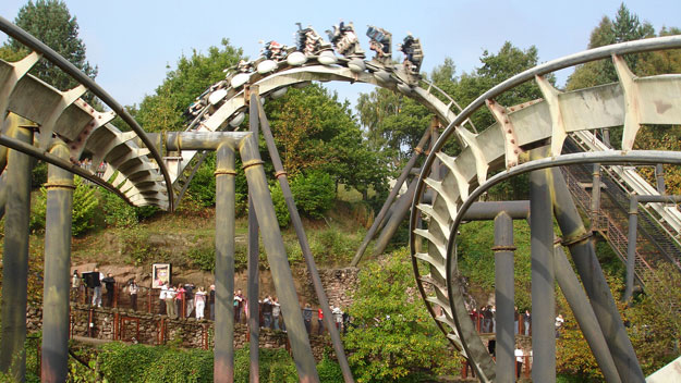 Nemesis roller coaster