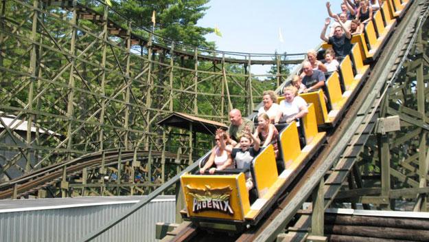 Phoenix roller coaster