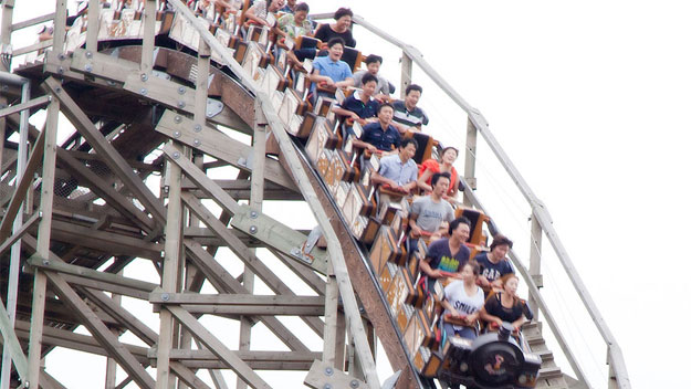 T Express roller coaster