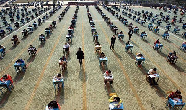 5. Прилежные китайские студенты(2)