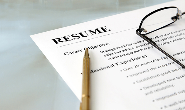 Standard  Elements Are Missing  From Your Resume