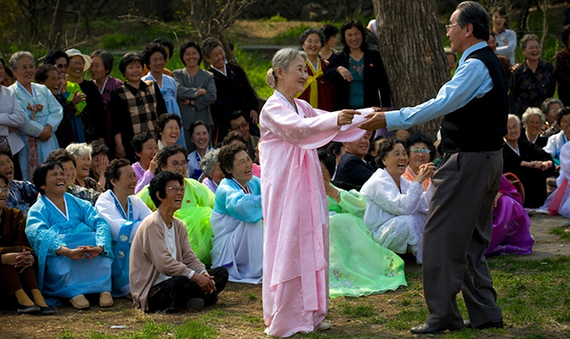 old people in north korea