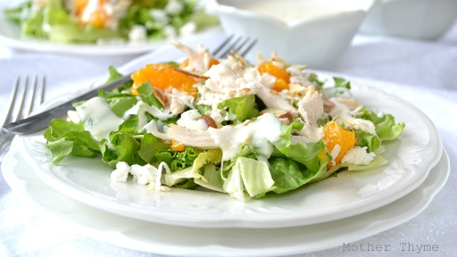 10 - Mandarin Orange Chicken Salad with Yogurt2