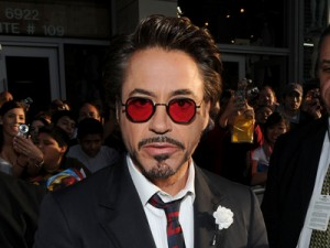 Robert Downey, Jr. in  Iron Man