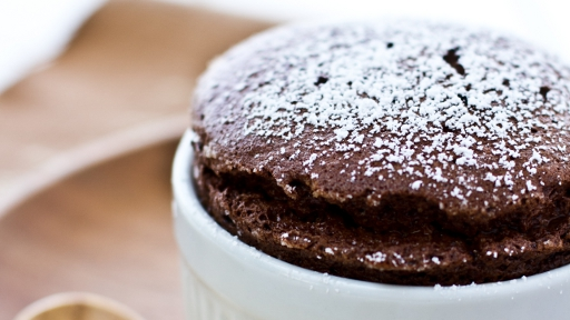 1) Chocolate Souffle