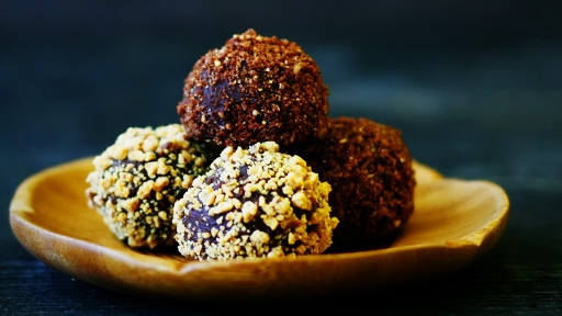 10) Salted Caramel Chocolate Truffles