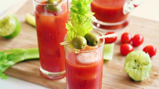 1 - Sriracha and Wasabi Bloody Mary