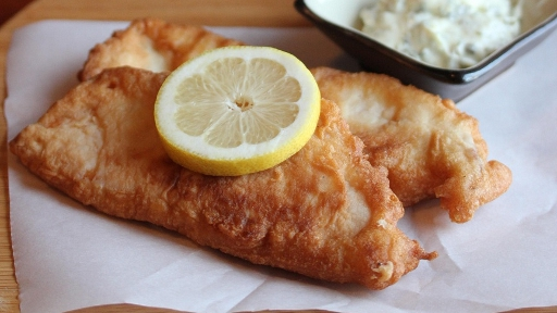 7 -Beer-Battered Tilapia