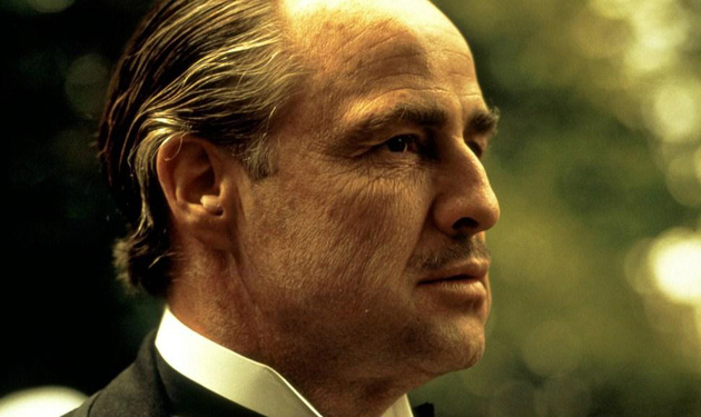 Don Vito Corleone (Marlon Brando) from The Godfather