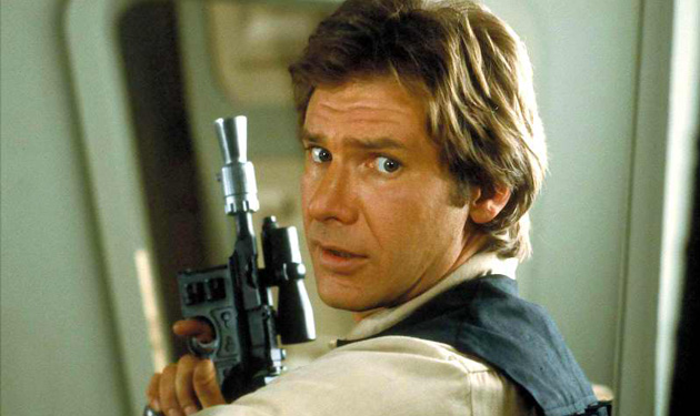 Han Solo (Harrison Ford) from Star Wars Episode IV A New Hope