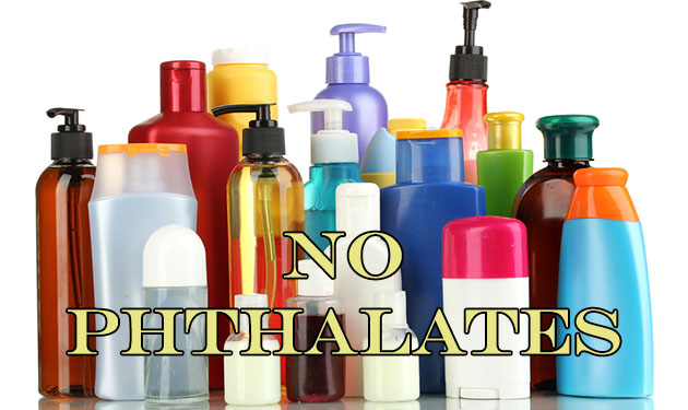 Products with phthalates