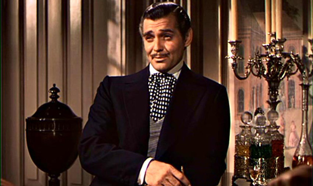 Rhett Butler (Clark Gable) from Gone with the Wind