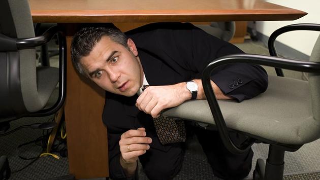 under-desk