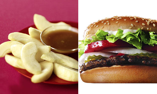4 menu Burger King