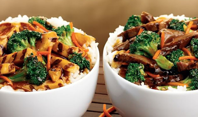 7.  Chicken Teriyaki Bowl