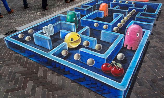8_Pac-Man-Sidewalk