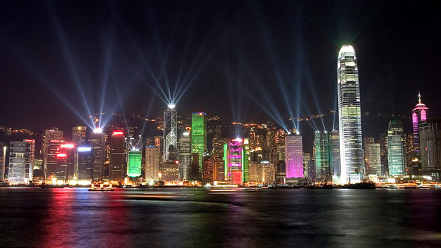 A Symphony of Lights in Hong Kong