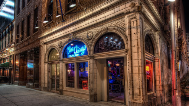 Blue Chicago blues bar
