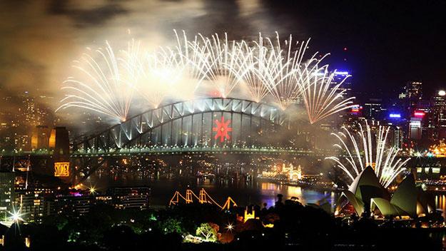 Fireworks in Sydney, Australia