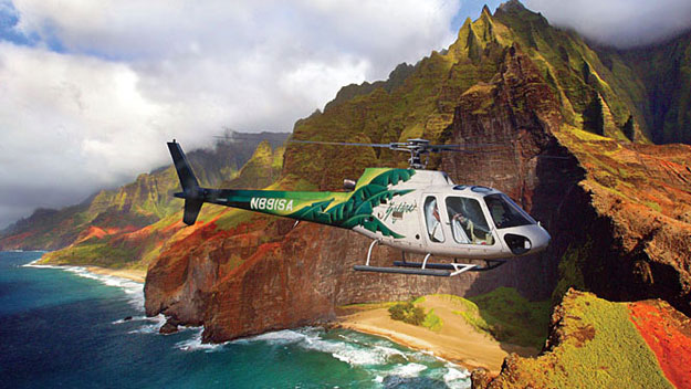 Helicopter Tour Over Kauai
