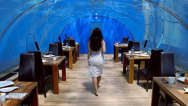 Ithaa underseas restaurant