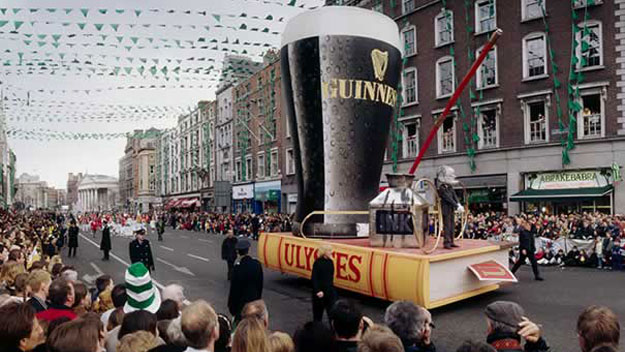 St. Patrick's Day parade in Dublin, Ireland
