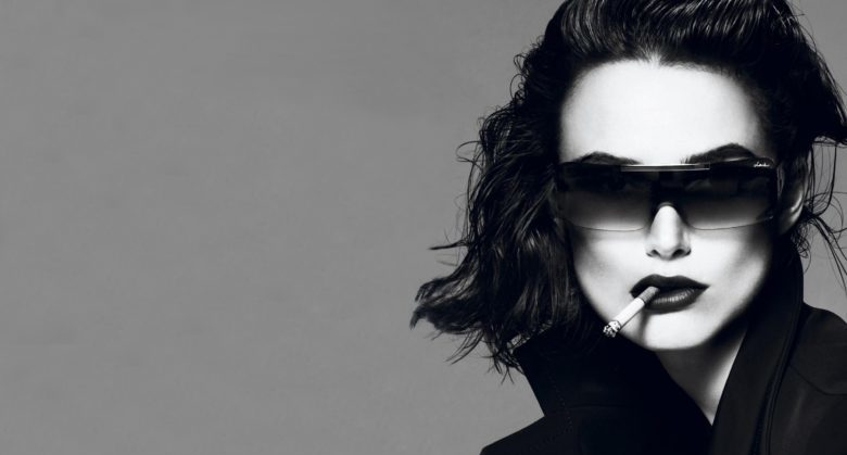 Wallpapersxl Smoking Brunettes Women Keira Knightley Glasses Sunglasses Cigarettes 1045404 2560x1440