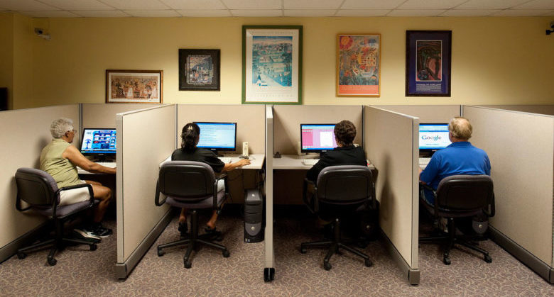 Small Office Computer Room Design